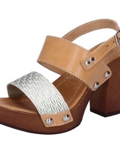 Hnedé sandále Made In Italia