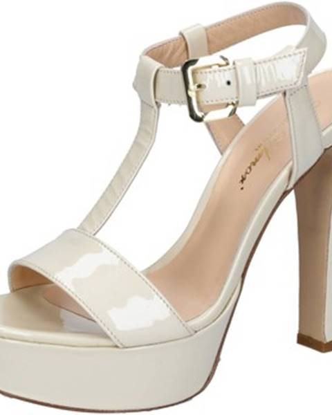 Béžové sandále Mi Amor