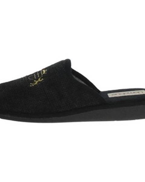 Čierne papuče Uomodue