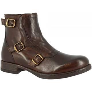 Čižmičky Leonardo Shoes  D416_6 MONTONE T. MORO