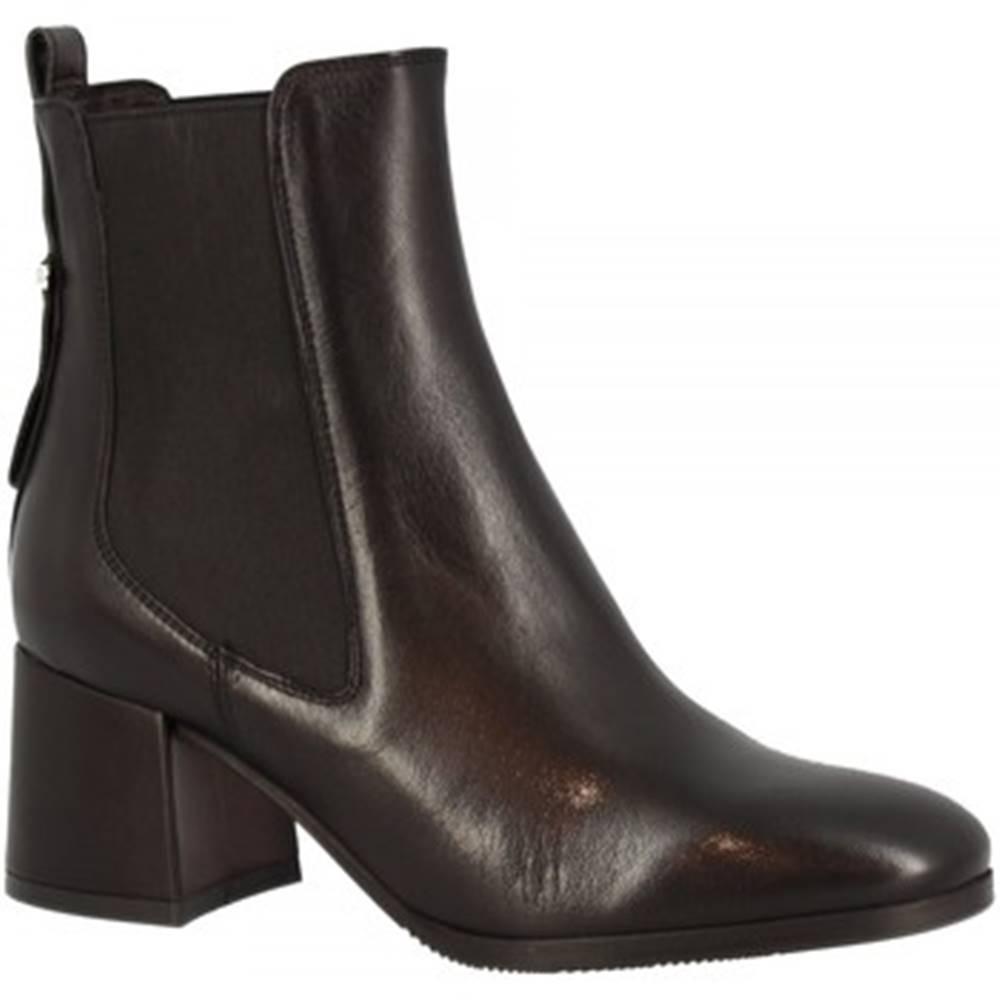 Leonardo Shoes Čižmičky Leonardo Shoes  C55 NAPPA NERO
