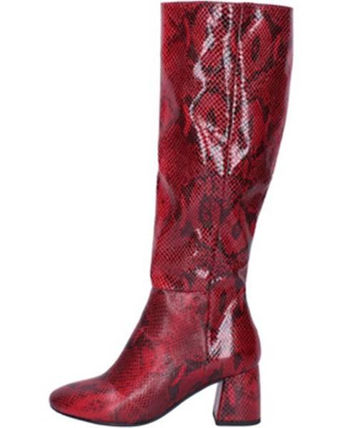 Červené čižmy Bottega Lotti