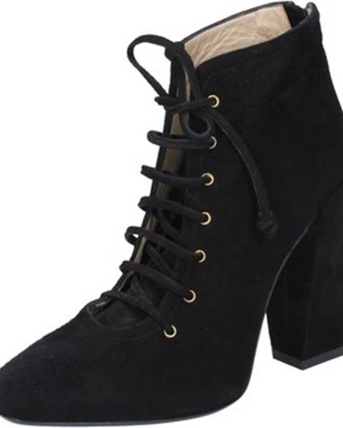Čierne topánky Gianni Marra