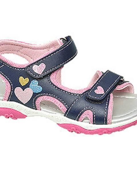Modré sandále Cupcake Couture
