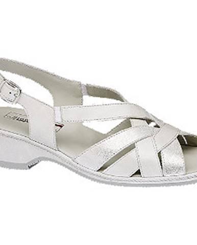 Krémové sandále Medicus