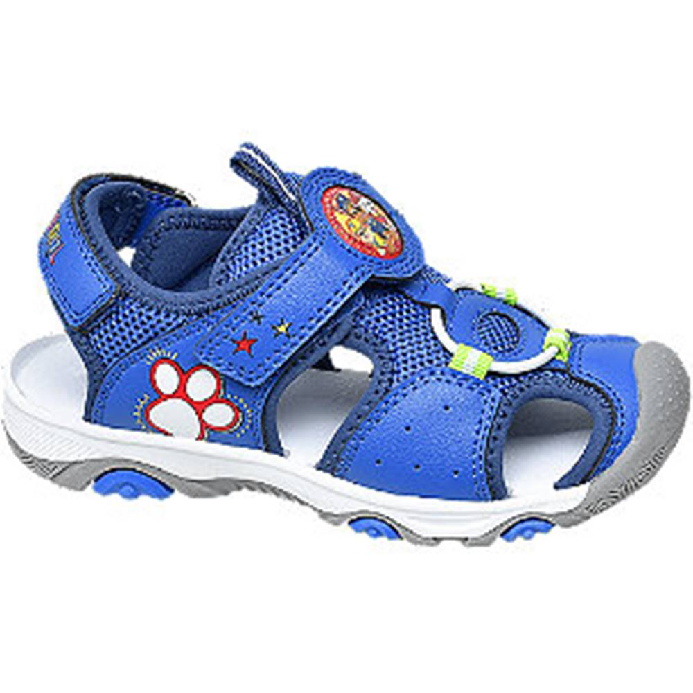 Paw Patrol Modré sandále na suchý zips Labková patrola