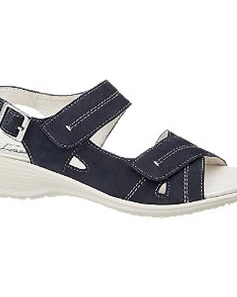Tmavomodré sandále Medicus