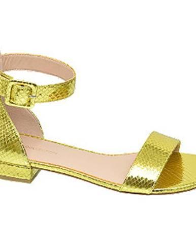 Žlté sandále Star Collection