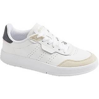 Biele tenisky Adidas Courtrook
