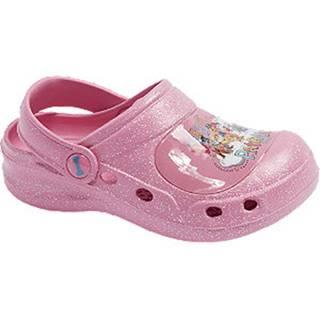 Ružové sandále Labková patrola