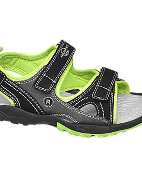 Zelené sandále Vty