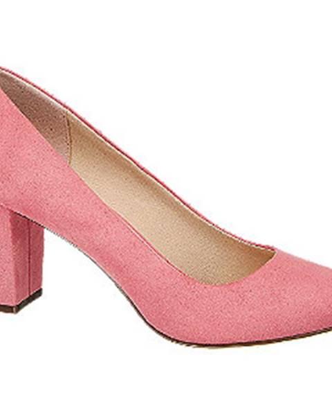 Ružové lodičky Graceland