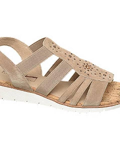 Béžové sandále Medicus