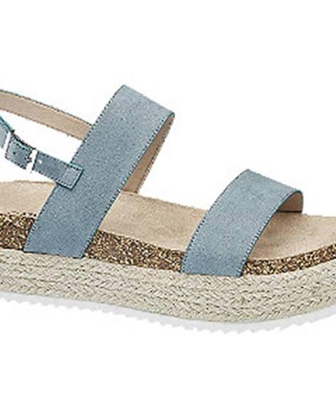 Modré sandále Catwalk