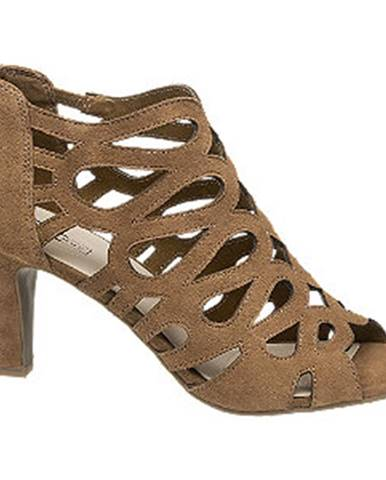 Hnedé sandále 5th Avenue