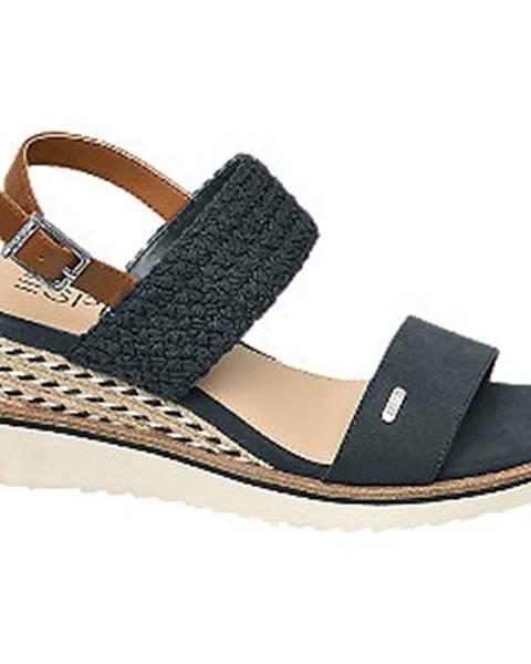 Tmavomodré sandále Esprit