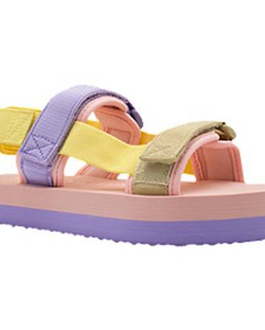 Fialové sandále Vero Moda