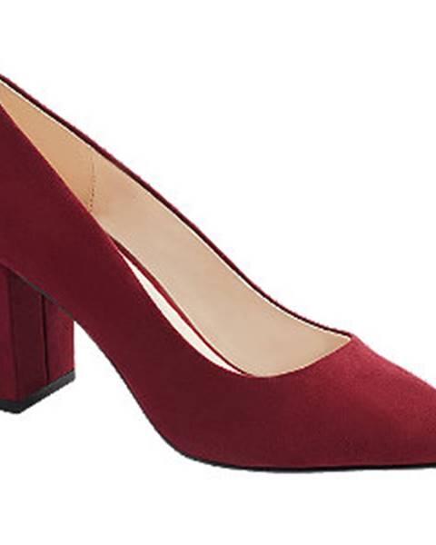 Červené lodičky Vero Moda