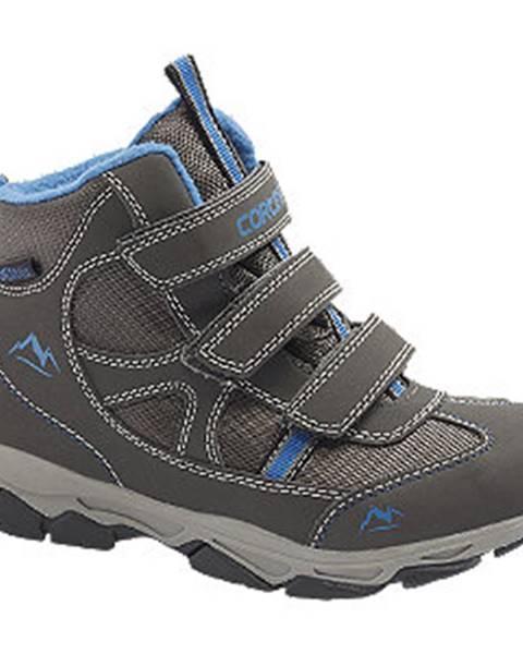 Sivé topánky Cortina
