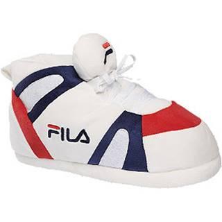 Biele papuče s logom