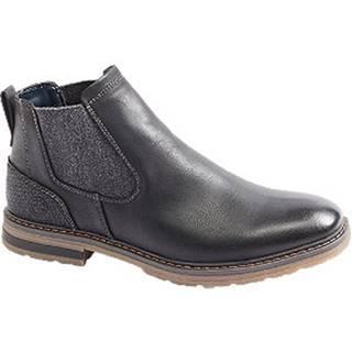 Čierna členková Chelsea obuv