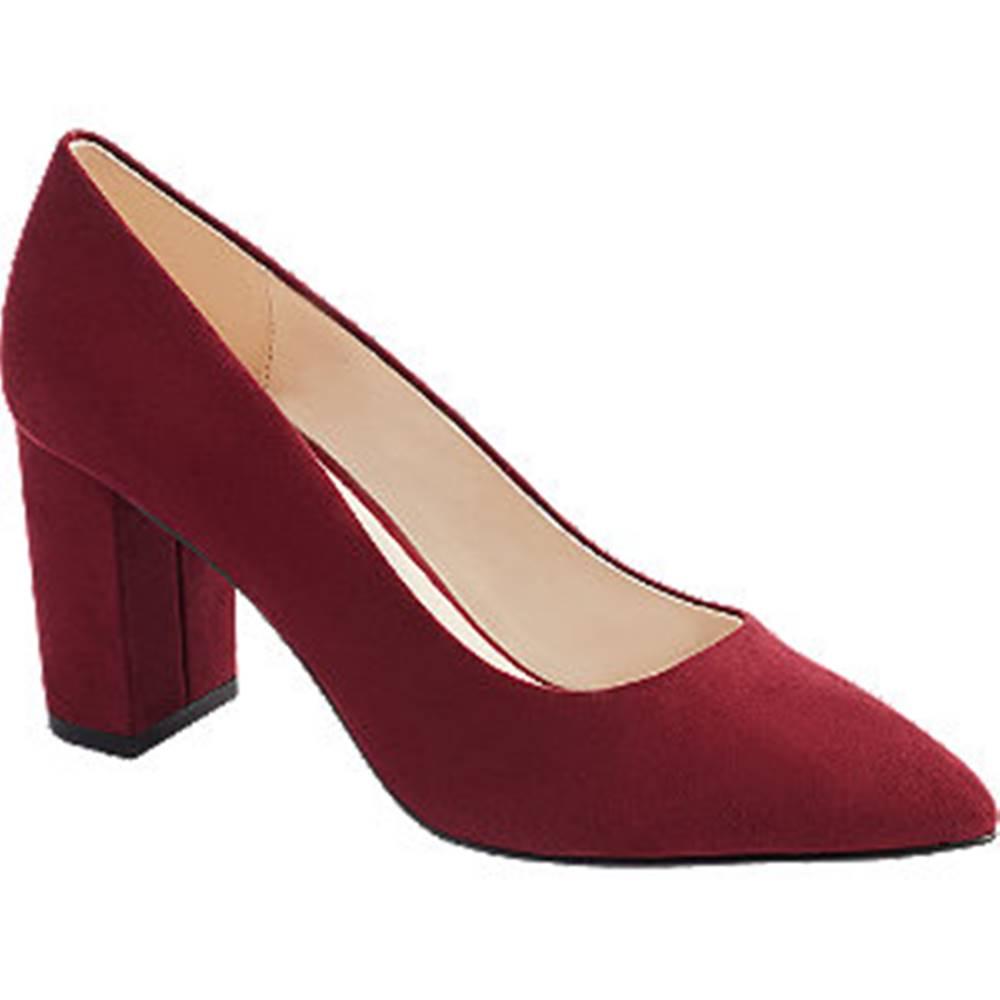 Vero Moda Červené lodičky Vero Moda
