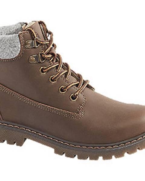 Hnedé topánky Vty