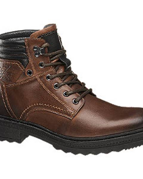 Koňakové topánky AM SHOE