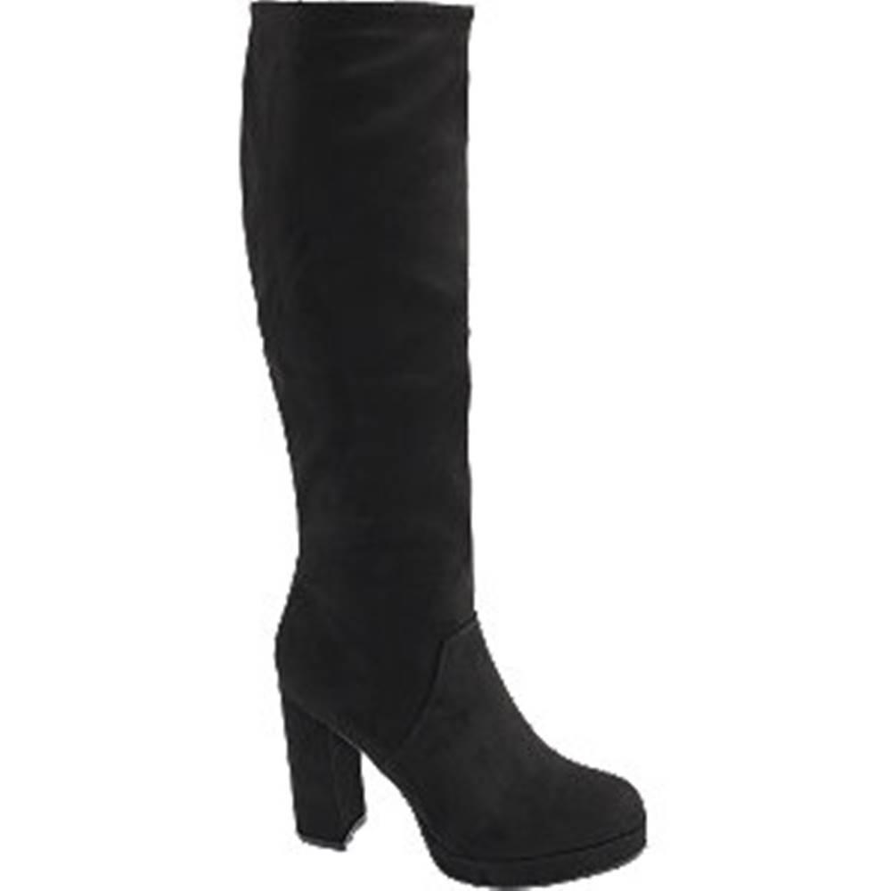 Catwalk Čierne čižmy