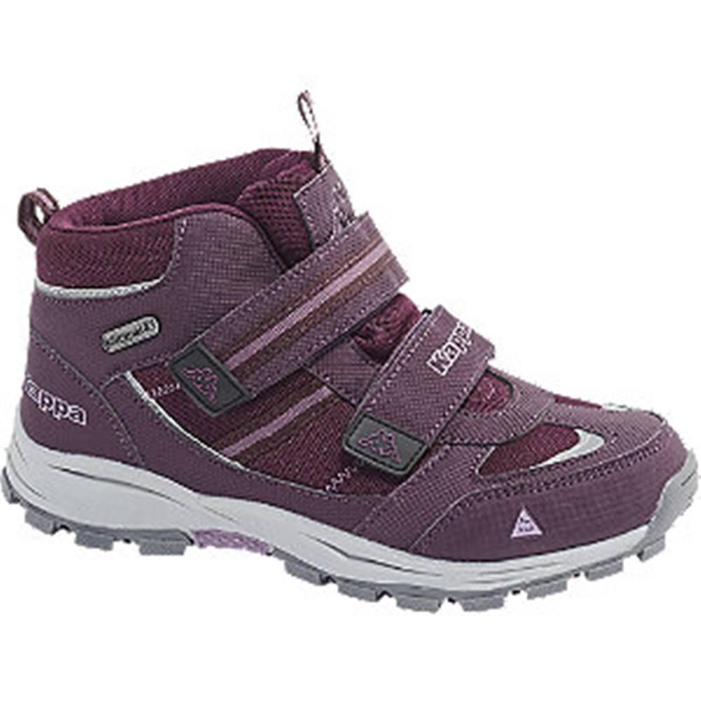 Kappa Fialová členková obuv na suchý zips s TEX membránou