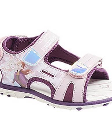 Fialové sandále Disney Frozen