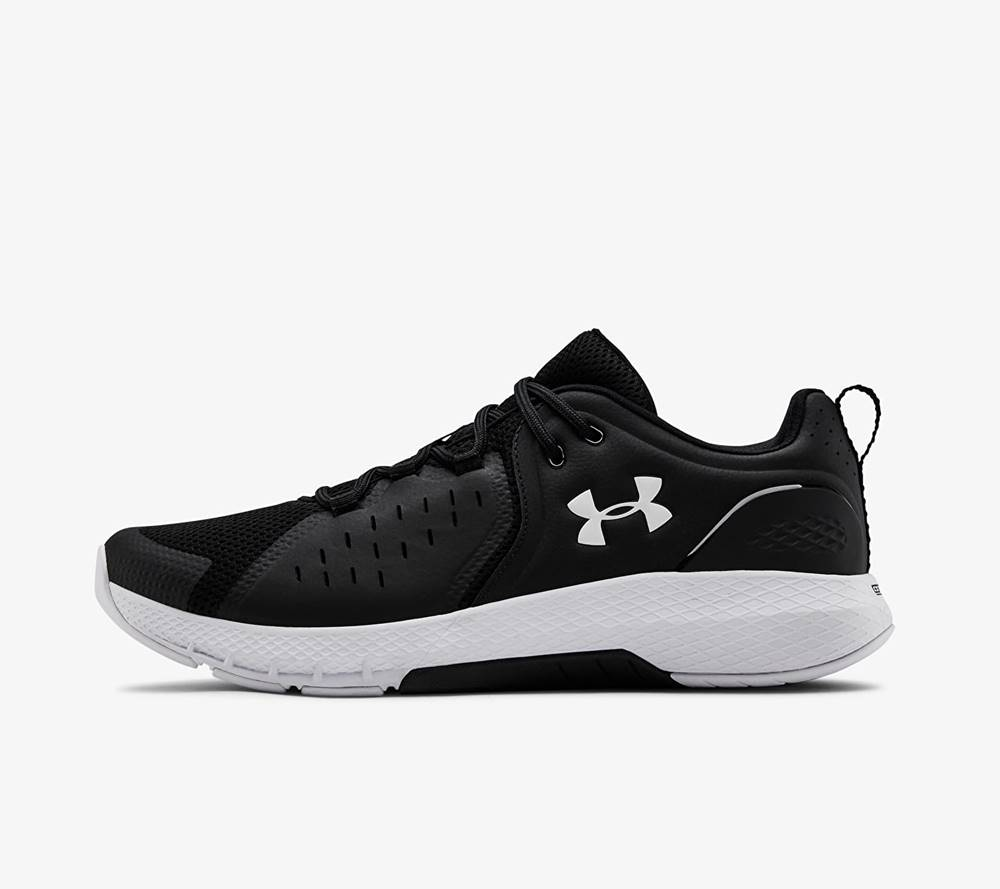 Under Armour Charged Commit TR 2 Black/ White/ White