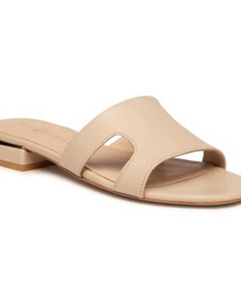 Béžové topánky Sergio Bardi