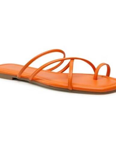Oranžové topánky Jenny Fairy