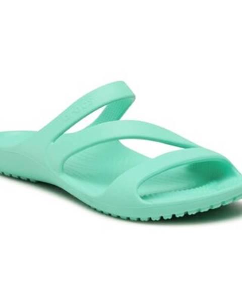 Tyrkysové topánky Crocs