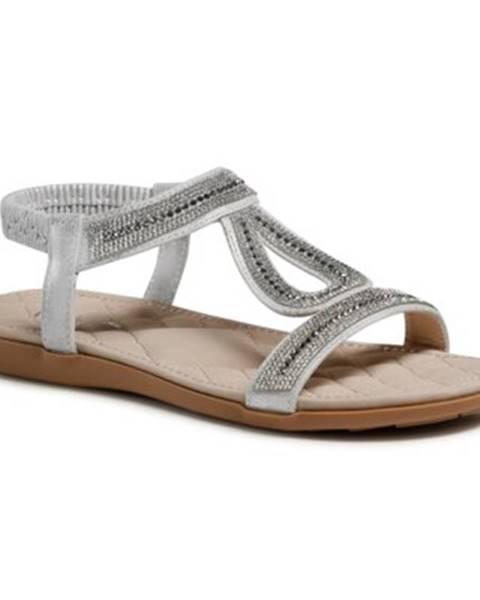 Šedé sandále Clara Barson