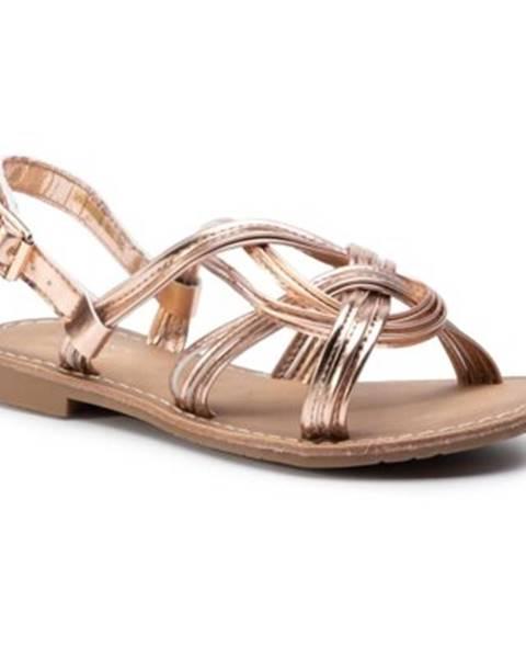 Zlaté sandále Jenny Fairy