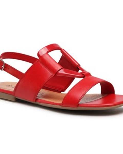 Červené sandále Lasocki