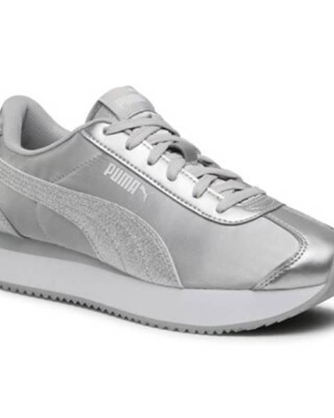 Strieborné tenisky Puma