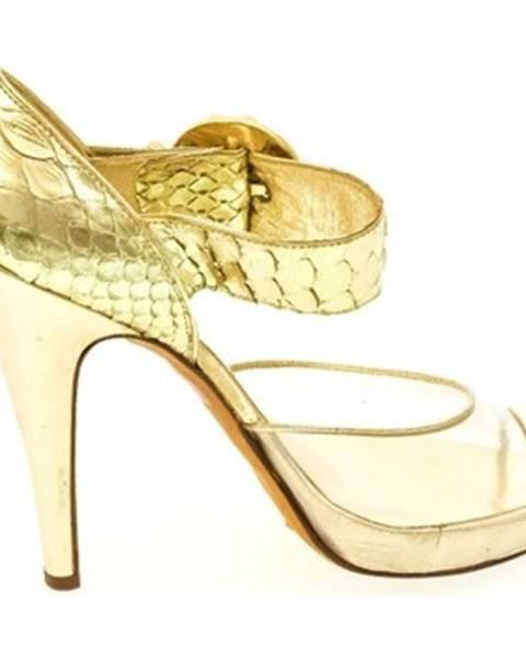 Zlaté sandále John-C