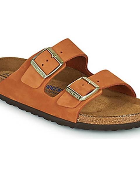 Oranžové topánky Birkenstock