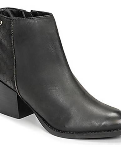 Čierne topánky Kaporal