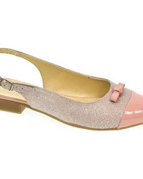 Ružové sandále Just Mazzoni
