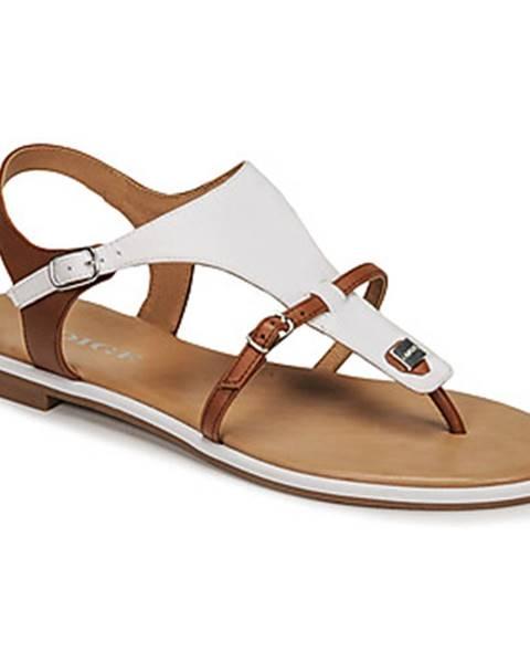 Biele sandále Adige