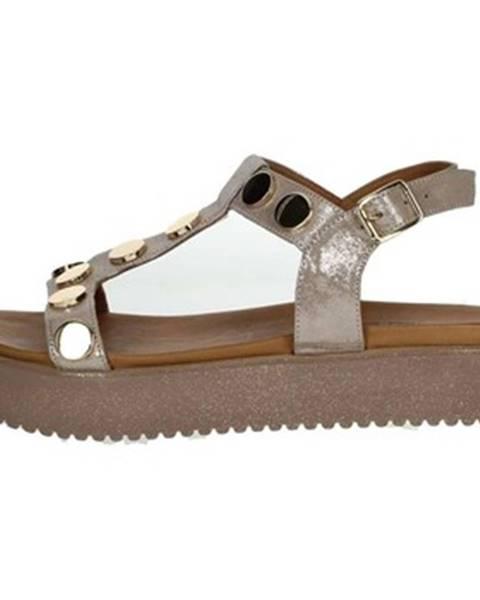 Ružové sandále Donna Style