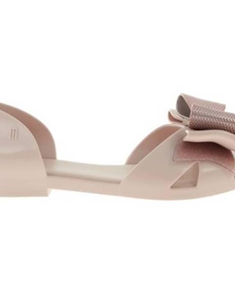 Béžové sandále Melissa
