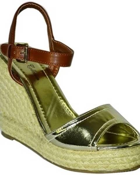 Zlaté sandále Comer