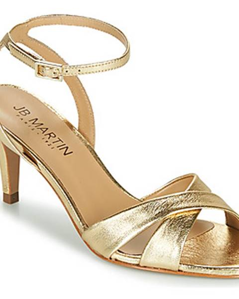 Zlaté sandále JB Martin