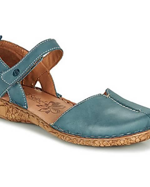 Modré sandále Josef Seibel