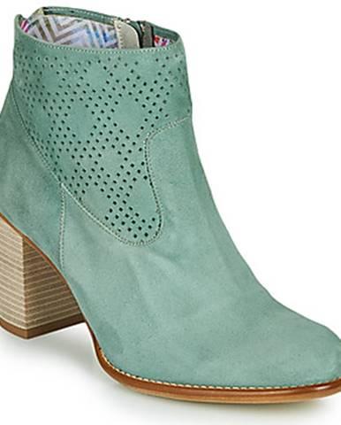 Zelené topánky Dorking